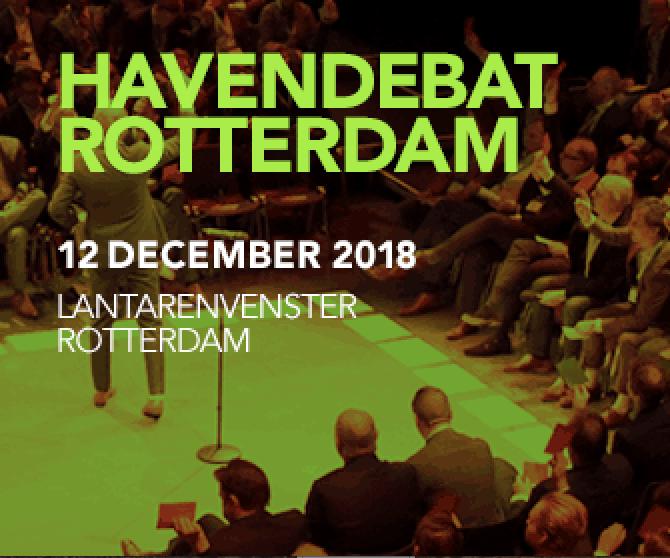 Havendebat Rotterdam 2018
